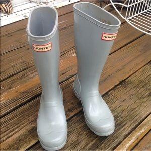 Hunter Gloss Rain Boots Wellies G3 B2 UK1 EU33
